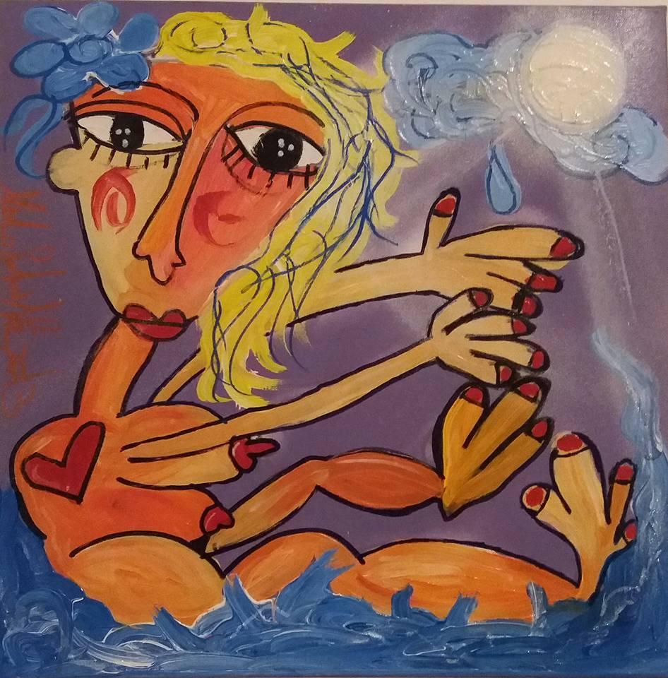 questo è un dipinto speciale per una ragazza speciale RIP IN PACE ALZIRA