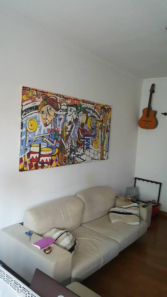 dipinto moderno orchestra jazz dipinto moderno