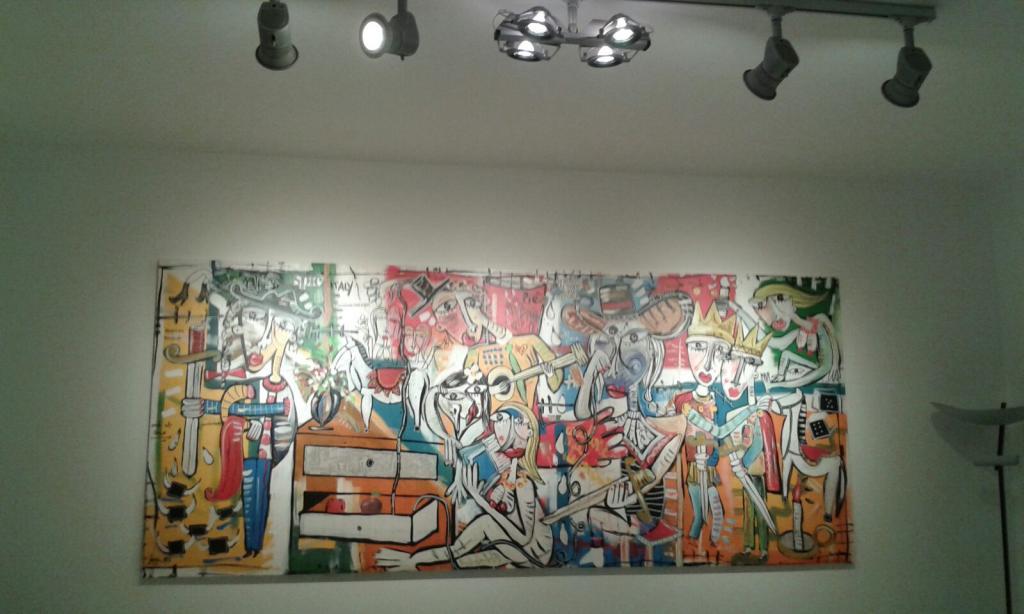 l'ordine nel disordine, dipinto moderno alessandro siviglia, painting