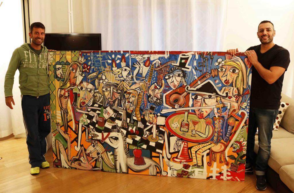 dipinto moderno, painting modern art