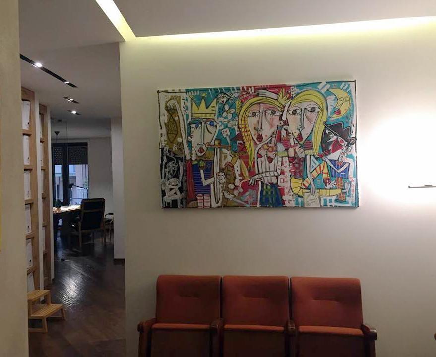 quadri per arredamento casa ed ufficio - alessandro siviglia - Arredamento Moderno Per Studio Legale