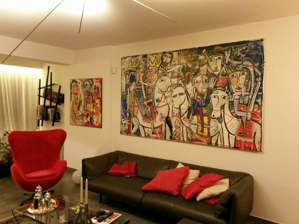Vendita quadri online quadri moderni artista alessandro for Quadri per salotto moderno