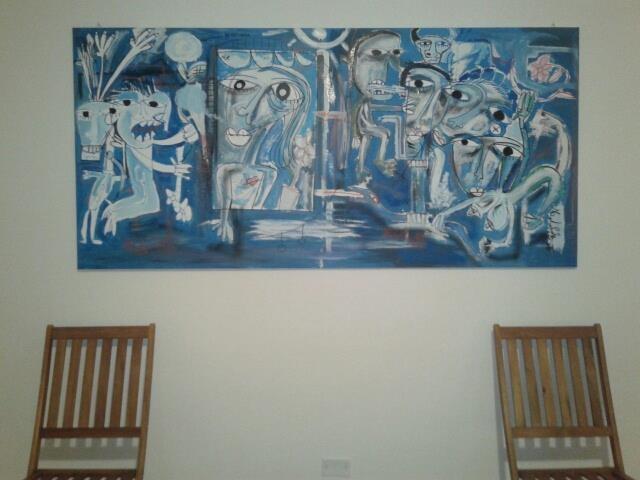 quadro-moderno-alessandro - siviglia - collezione privata roma 2013