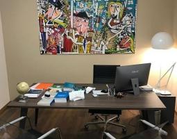 office furniture original paintings modern Italian artist, art paintings office