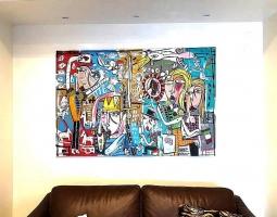 collezione privata salerno con divano marrone 2017