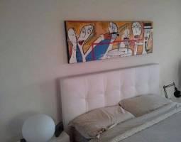 arredo camera da letto quadri moderni dipinti