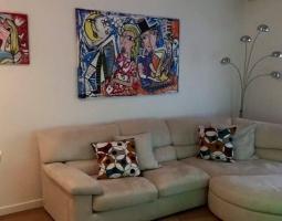 arredamento casa dipinti moderni, olio su tela , pop art alessandro siviglia