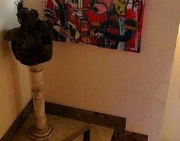 dipinto arte contemporanea sicilia quadro soldato marionetta