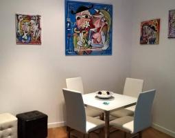 dipinto cucina , quadro moderno salone