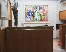 hotel concord roma - painting hotel motel art oil on canvas alessandro siviglia modern art