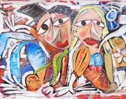 100x150 ''LUNA DI MIELE'' 2015 240 EURO