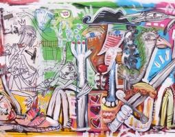 '' IL DAVID '' 150X80 CM 2015