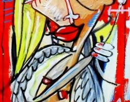 l'angela 26x40 su tela 2014