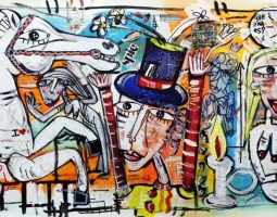 scelta-di-liberta-oil-on-canvas-tec-mista-su-tela-70x200-cm-anno-2015