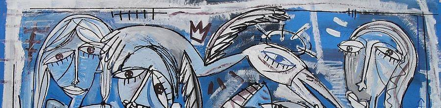 Vendita di quadri moderni astratti artista contemporaneo for Cercasi divano letto in regalo