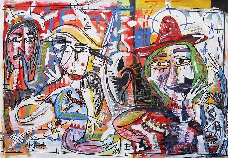 Quadro moderno vendita quadri arte opera alessandro for Cercasi divano letto in regalo
