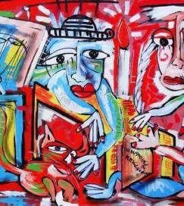 Quadri moderni dipinti su tela dall'artista Alessandro Siviglia