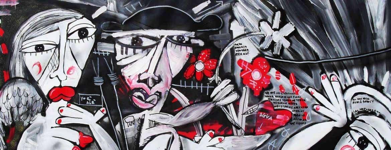 Vendita quadri moderni dell 39 artista contemporaneo for Dipinti a mano moderni