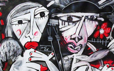 Vendita quadri moderni dell 39 artista contemporaneo for Quadri astratti on line