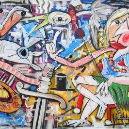 Quadri moderni dipinti a mano Alessandro Siviglia