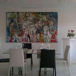 quadri arredamento ristorante - alessandro siviglia