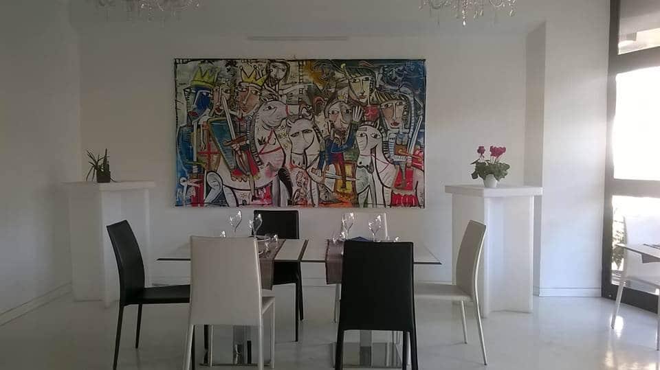 Quadri per arredamento bar dipinti originali da alessandro siviglia - Quadri per sala da pranzo ...