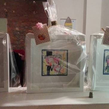Bomboniere matrimonio: quadri in miniatura