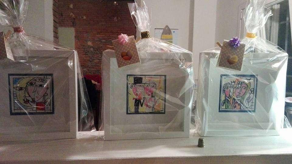 bomboniere matrimonio-quadri per bomboniere-dipinti piccoli