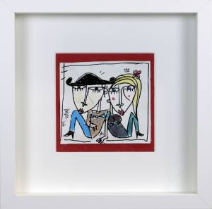 bomboniere matrimonio- quadri in miniatura - alessandro siviglia