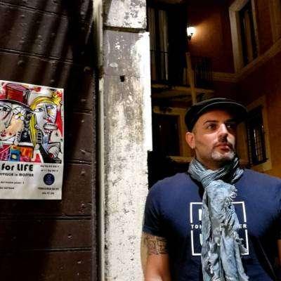Alessandro Siviglia alla mostra Lust for Life a Roma