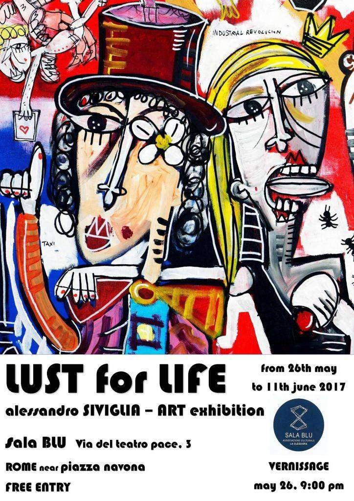 art exhibition-sala blu-via del teatro pace 3- roma-alessandro-siviglia