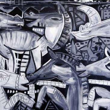 just cavalli_90x150 arredamento studio avvocato quadri moderni in bianco e nero