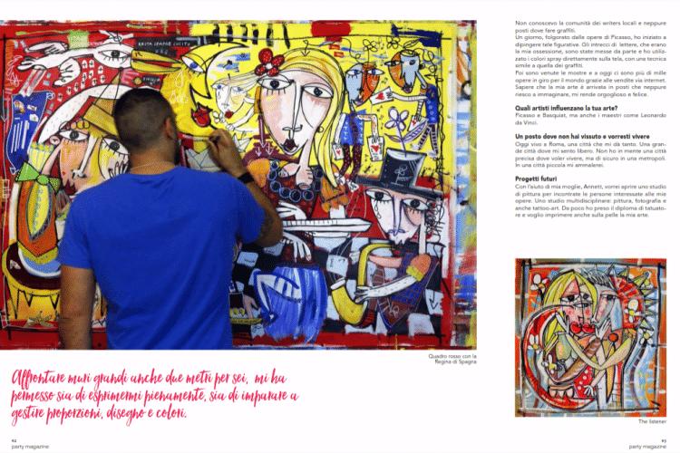 party magazine_quadro rosso_alessandro siviglia