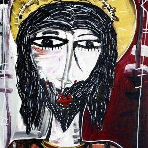 70x50_L'Ebreo- ritratto di gesu moderno