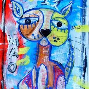 il gatto ritratto gatto arredamento casa
