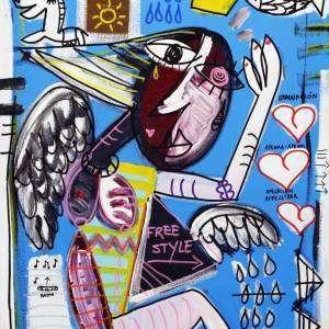 Free_70x50_quadro moderno dipinto a mano