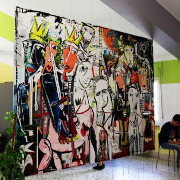 Mori contro Cristiani – ein Kunstwerk erobert die Oberstufe