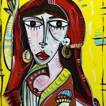 Jitana_70x50-quadro dipinto a mano