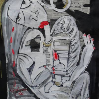 quadro moderno puttino