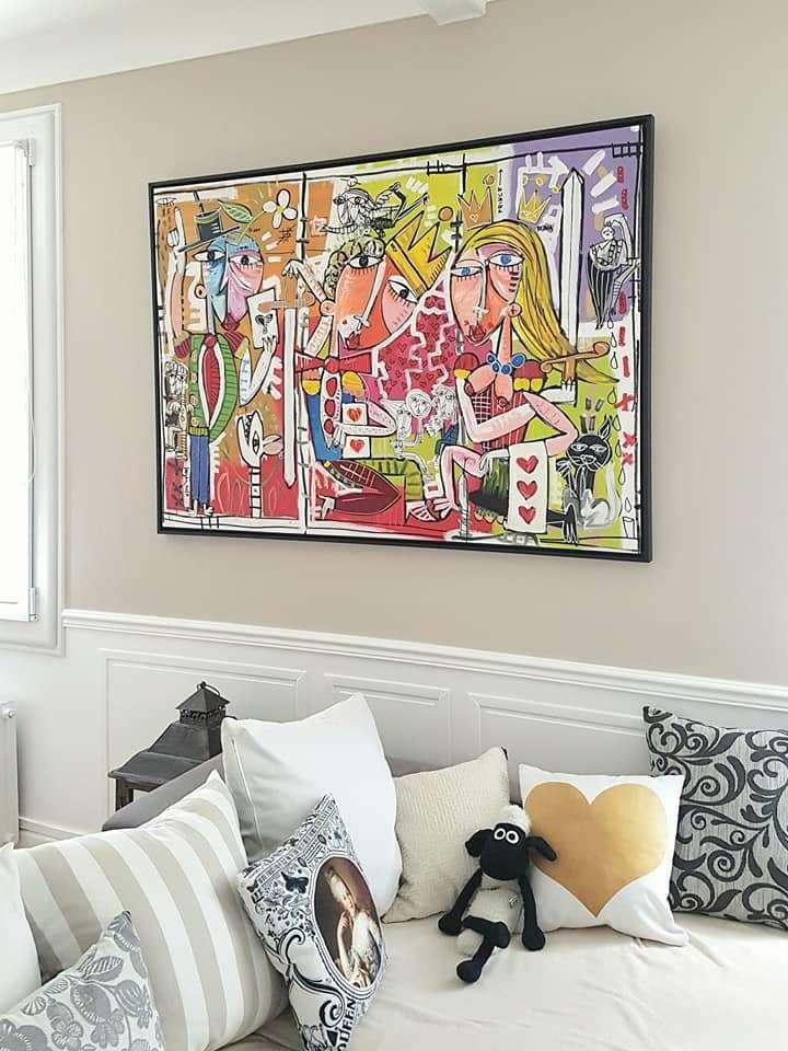 Quadri per arredamento casa pezzi unici dipinti a mano dall 39 artista siviglia - Quadri per camera da letto moderna ...