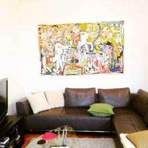 collezione privata germania alessandro siviglia , pittura moderna quadri moderni originali