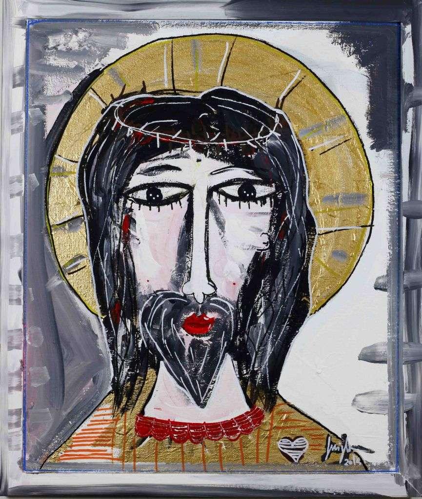 Dipinti sacri e religiosi arte sacra moderna quadri di for Dipinti figurativi moderni