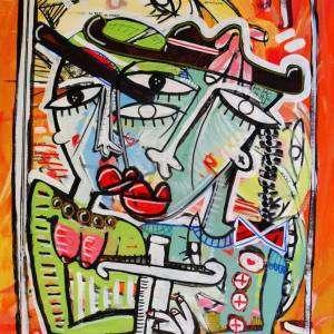 dipinto figurativo-il-torero-alessandro siviglia