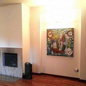 dipinto madre natura arredamento casa moderna