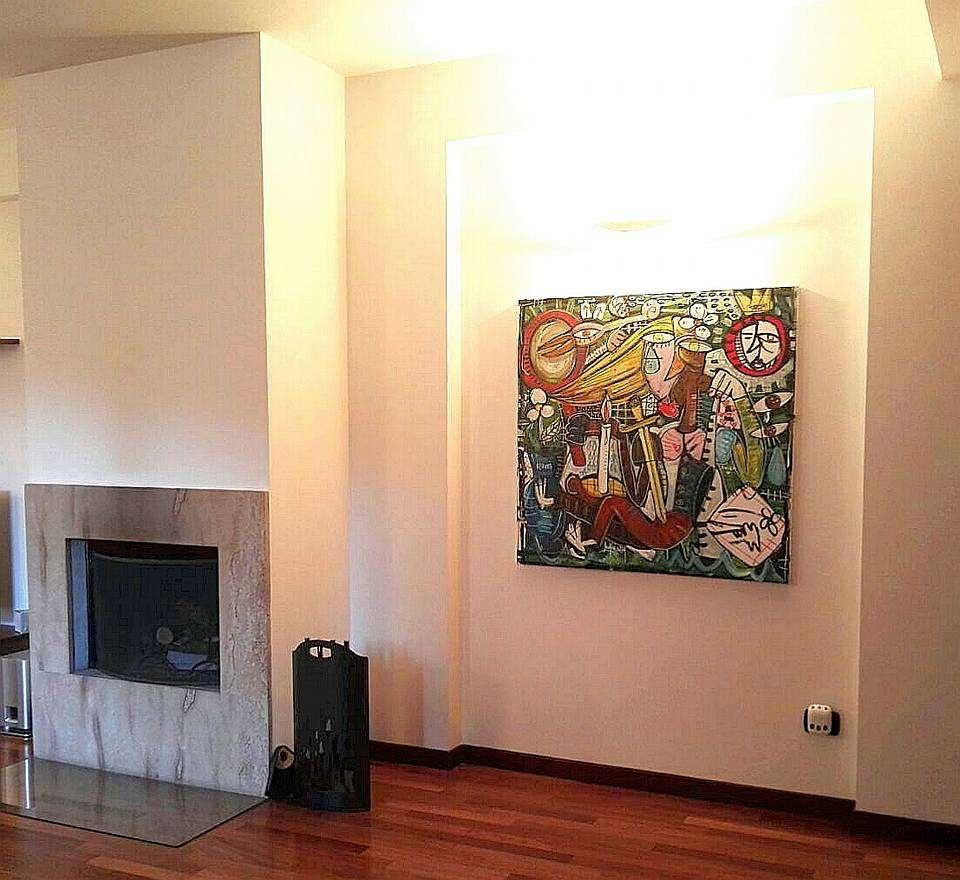 Quadri per arredamento casa pezzi unici dipinti a mano - Arredamento casa moderna ...