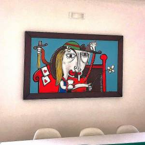 dipinto moderno azienda , quadri per concessionario