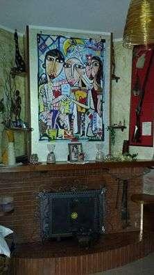 dipinto moderno soggiorno siviglia alessandro dipinto due fratelli