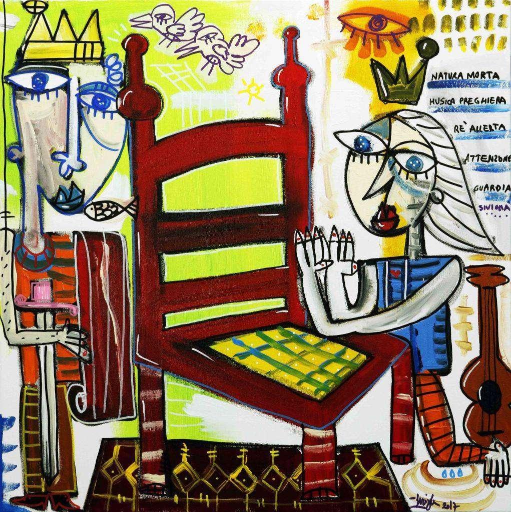 Il trono di spade - quadro la preghiera