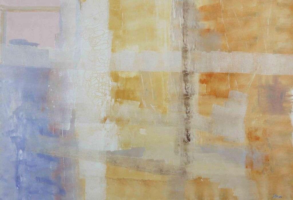 l'astratto tenue dipinto moderno su tela olio su tela