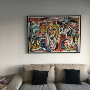 painting modern art arredamento studio medico quadri moderni olio su tela arte moderna e contemporanea